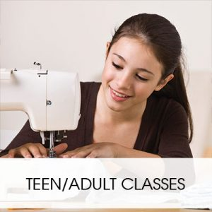TEEN SEWING CLASSES
