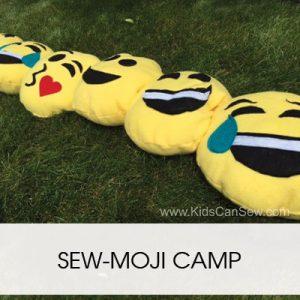 EMOJI KID'S SEWING CAMP